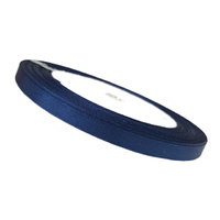 6mm Ribbon Dark Blue 25 Yards