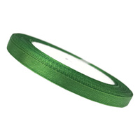 6mm Ribbon Emerald Green 25 Yards