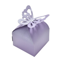 Candy Box Purple Butterfly 10pcs