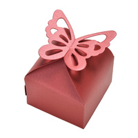 Candy Box Red Butterfly 10pcs