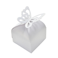 Candy Box White Butterfly 10pcs