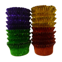 Mini Candy Foil Cups Mixed Colours - 20 Pack