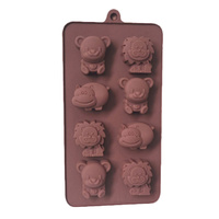 Animals 2 Silicone Mould