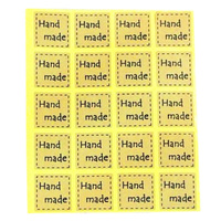 Hand Made Stickers 1pcs Sheet 24 Stickers per Sheet