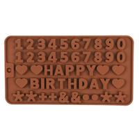 Letters & Numbers Silicone Mould