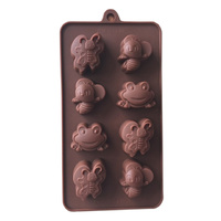 Frog & Butterfly Silicone Mould
