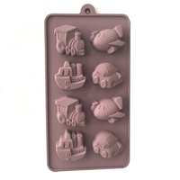 Vehicles Silicone Mould