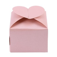 Candy Box Pink Heart 10pcs