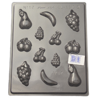 Assorted Fruits Mould - Thick 1.5mm