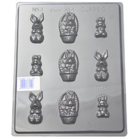 Small Rabbits Mould - Thick 1.5mm