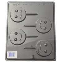 Happy Faces Mould - Thick 1.5mm