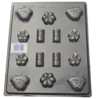 Flower Log Variety Mould - Thick 1.5mm