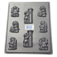 Christmas Teddy Bears Mould
