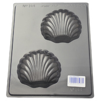 Scallop Shells Chocolate / Soap Mould - Thick 1.5mm