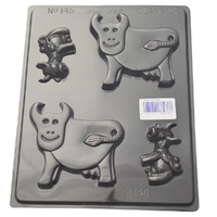 Cows Chocolate / Soap Mould - Thick 1.5mm