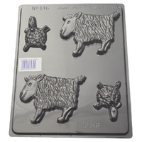 Sheep Chocolate / Soap Mould