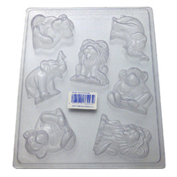 Zoo Animals Mould - Thick 1.5mm