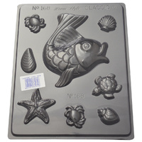 Seaside Shapes Chocolate / Craft Mould - Standard 0.55mm