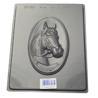 Horse Plague Chocolate / Craft Mould - Thick 1.5mm