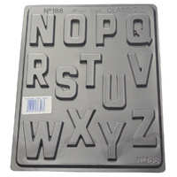 Alphabet N-Z Mould - Thick 1.5mm