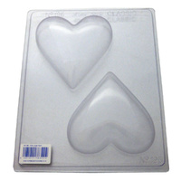 Xtra Large Heart Chocolate / Craft Mould - Thick 1.5mm