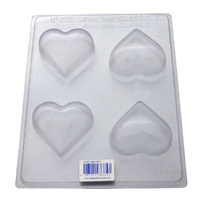 Deep Hearts Chocolate / Craft Mould