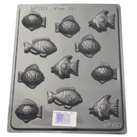 Assorted Small Fish Mould - Standard 0.55mm