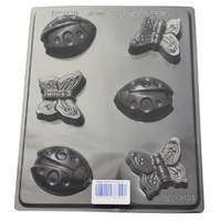 Butterflies & Ladybirds Chocolate / Craft Mould