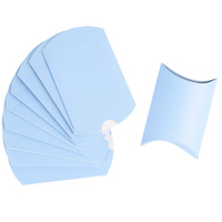 Blue Pillow Boxes 10pcs