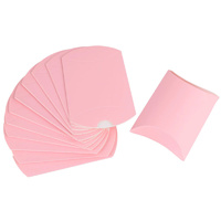 Pink Pillow Boxes 10pcs