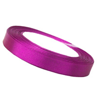 Ribbon 12mm Fushia Pink - 25 Yard Roll