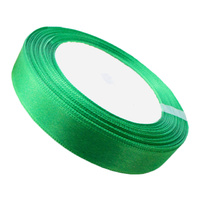 Ribbon 12mm Green - 25 Yard Roll