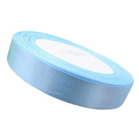Ribbon 12mm Light Blue - 25 Yard Roll