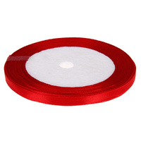 Ribbon 12mm Red - 25 Yard Roll