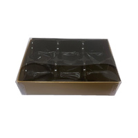 Chocolate Box  Gold - Holds 6 Chocolates