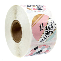 Thank You Stickers 500 Per Roll