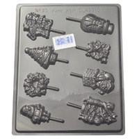 Assorted Christmas Mould - Thick 1.5mm