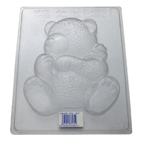 Large Teddy Chocolate / Craft Mould - Thick 1.5mm