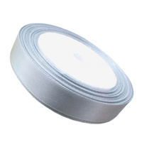 Ribbon 12mm Silver - 25 Yard Roll