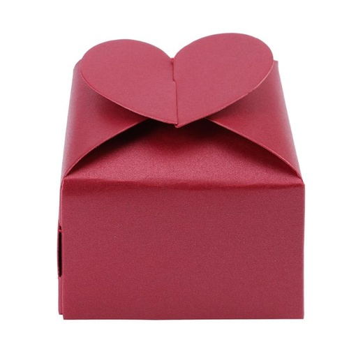 Candy Box Red Heart 10pcs